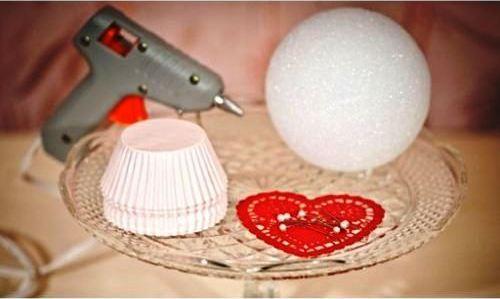 Cara Membuat Kerajinan Tangan Dari Kertas, Bunga Kertas Kue 1