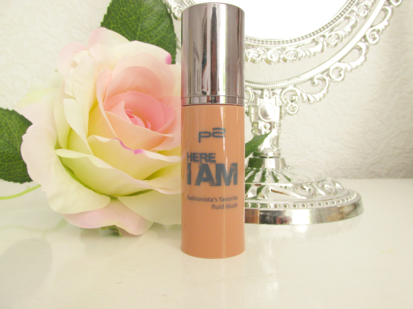 p2 Here I am - Fashionista´s Favorite Fluid Blush - 010 Rooftop