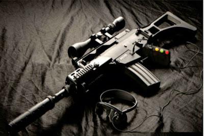Delta six ,Controle para video game imita arma de verdade