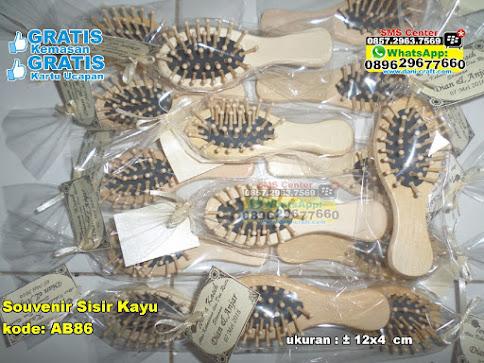 Souvenir Sisir Kayu murah