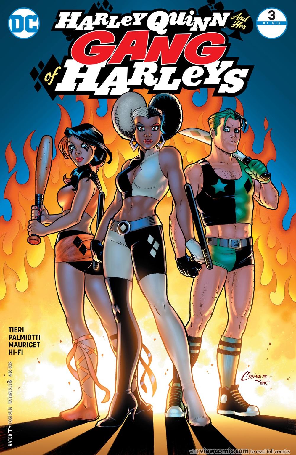Harley Quinn & Her Gang of Harleys