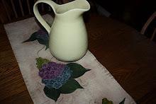 Lilac Tablerunner