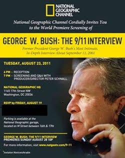 George W. Bush A Entrevista Sobre o 11 de Setembro 2011