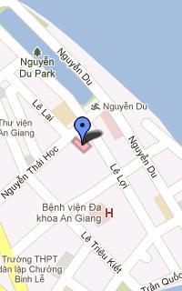 Bản đồ đến Trung tâm dịch vụ bán đấu giá tài sản An Giang