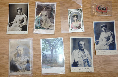 A collection of images of Mary Curzon and her husband George