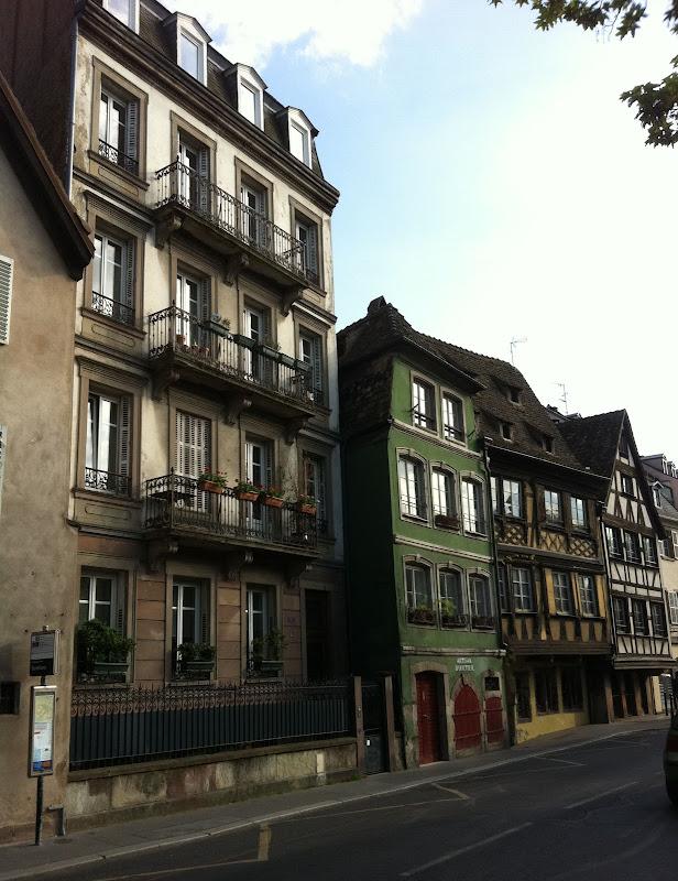 Улочки Страсбурга
