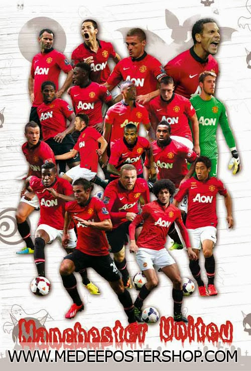 Manchester United All Star Poster