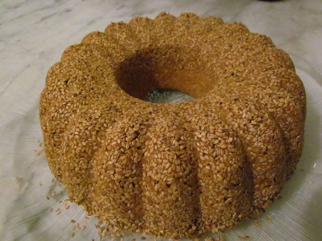 susamlı tahinli kek tarifi