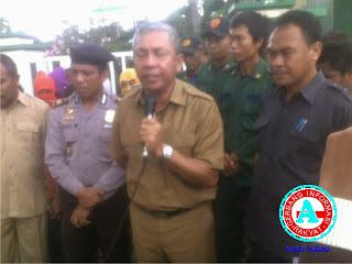 Massa LDK STISIP Mbojo Desak Pemindahan Ibukota Kabupaten Bima