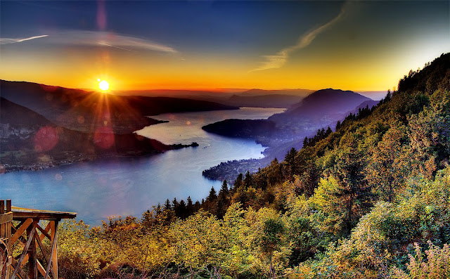 Lake Annecy French Alps