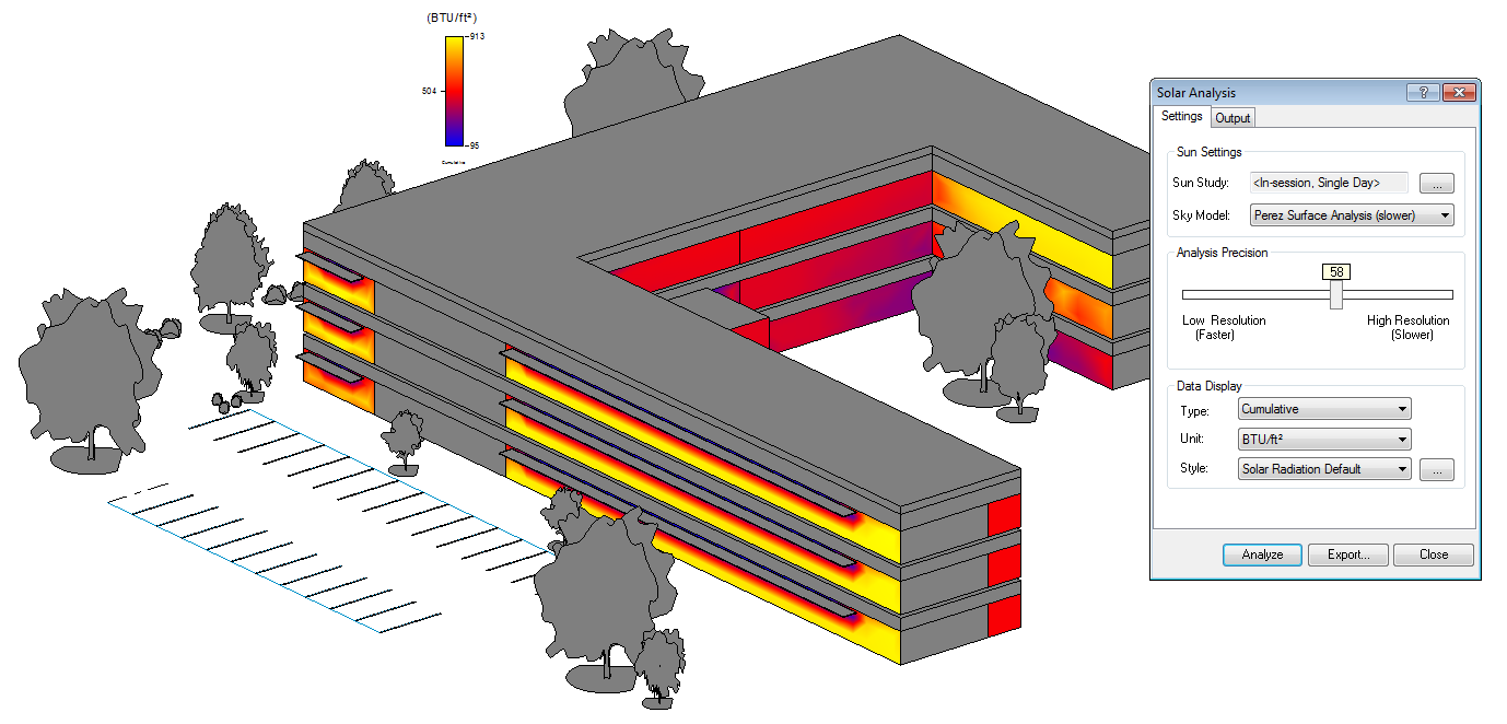 Revit Add Ons Solar Radiation For Revit Now Available Via