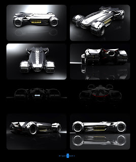 Miguel Lopez mlopezart Devilminer Batmobile Dark Knight 2012 Tumbler Burton Concept Art New Future Vehicle Replica Car Design