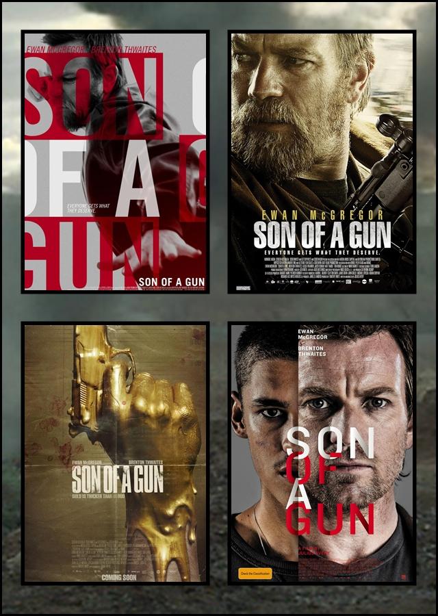 Son, Gun, Julius, Avery