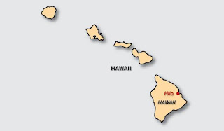 Map of Hilo Location
