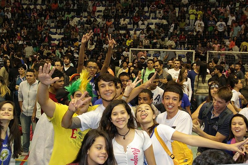 Jovens prestigiam o Congresso Católico em Teresópolis