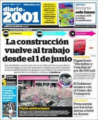 29/05/2020     PRIMERA PAGINA DIARIO DE VENEZUELA