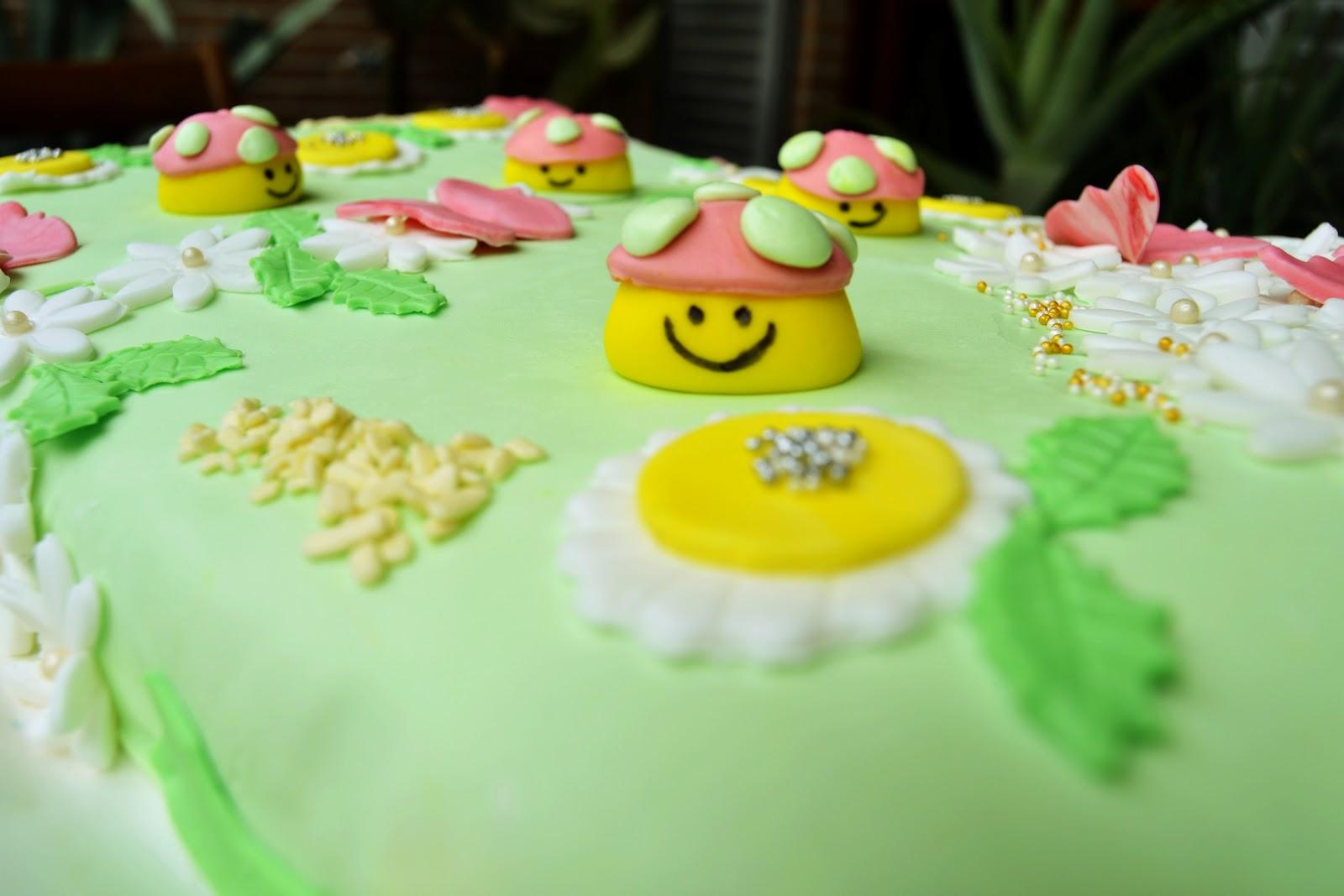Cake Design: Torta del Prato in Primavera Confidenze ...