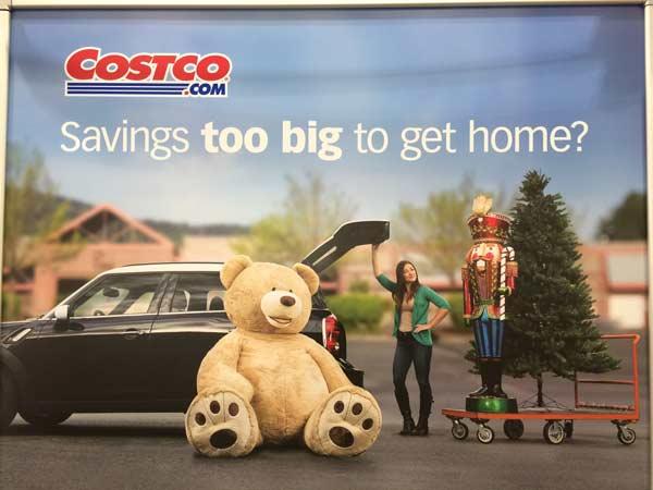 Costco sells gigantic teddy bear and nutcracker