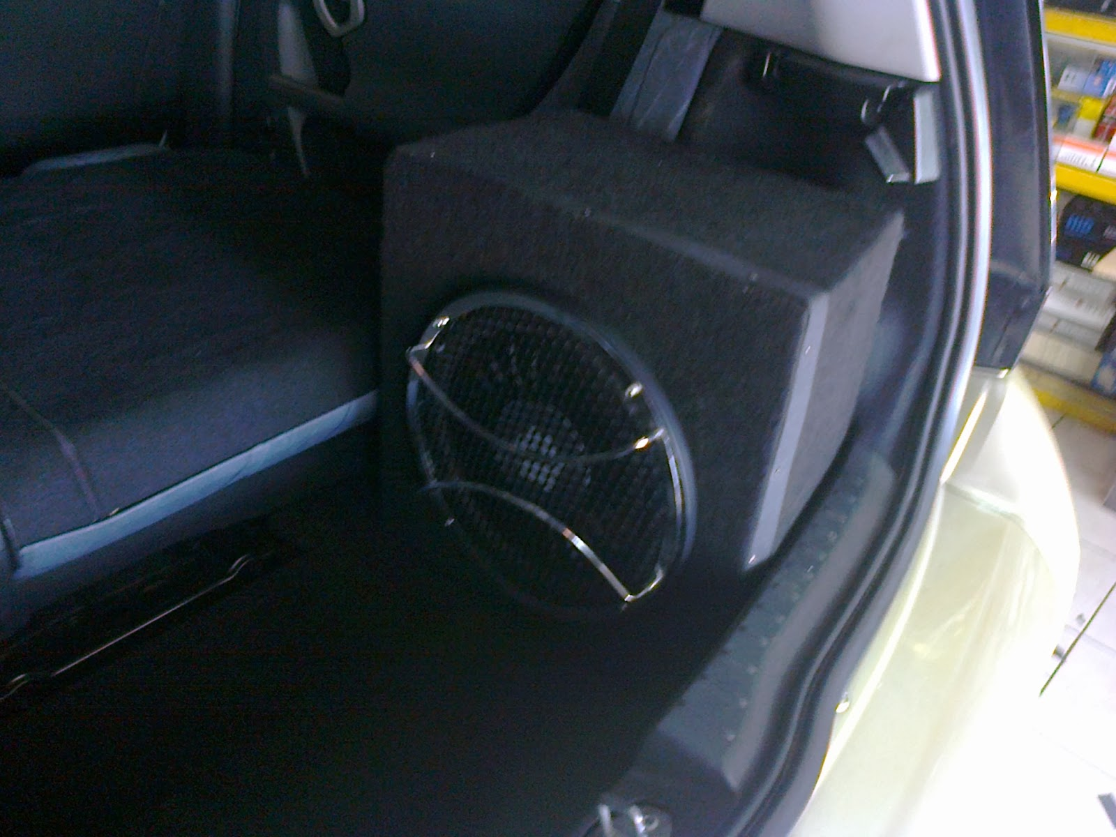 Eb Audio Smart Car Install Customize Rear Tyre Board Wiring Subwoofer Box