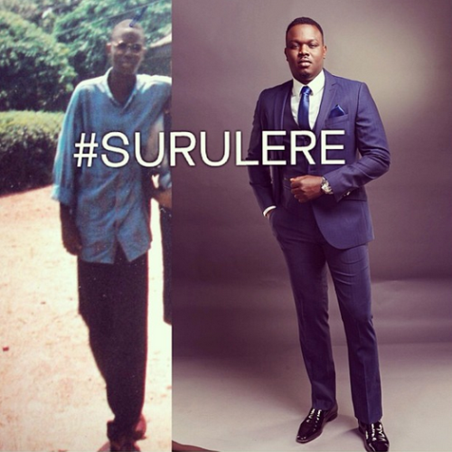 Dr Sid shares before and after photo #SURULERE