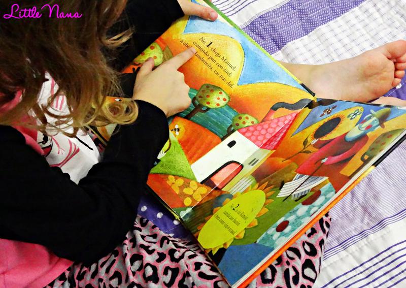 Hoy leemos el libro de contar cuentos infantiles biblioteca