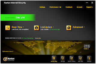 Norton Internet Security 2012: 60 days free trial download
