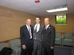 Elder Cooper with Leaders