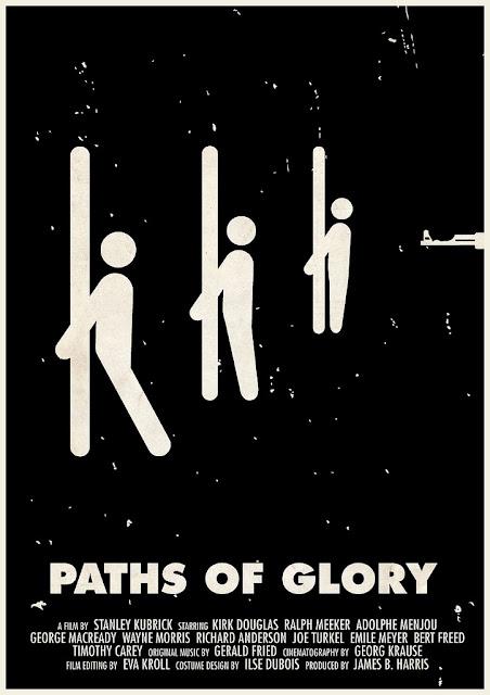 Senderos de gloria poster