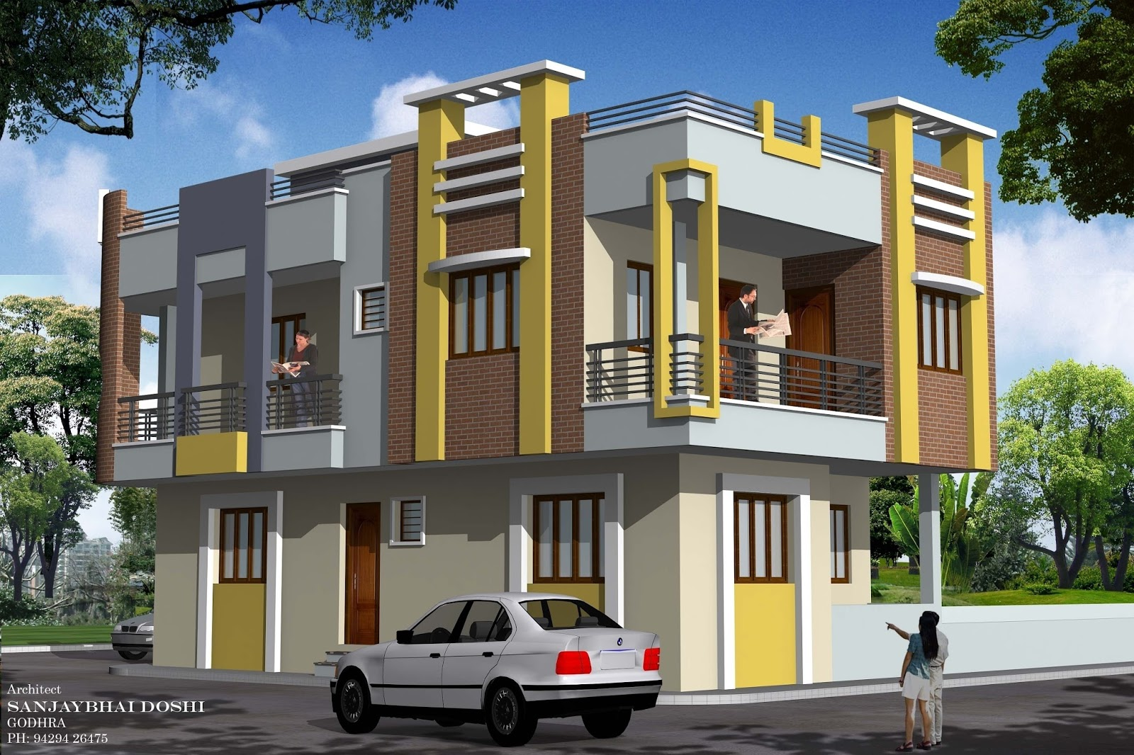 Sweet home design and cute house design rachana architect for Bangladeshi home design picture