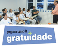 Programa Senac de Gratuidade