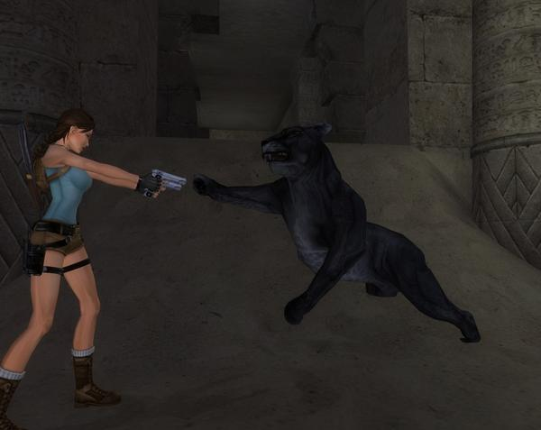 Screen Shot Of Tomb Raider Anniversary (2007) Full PC Game Free Download At Downloadingzoo.Com