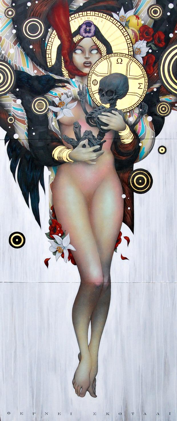 nuncalosabre. Pinturas y Murales | © Tristan Eaton