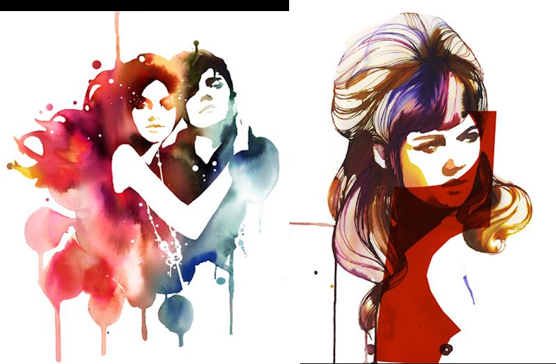 Ilustracion Stina Persson moda