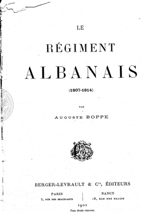 Le régiment Albanais
