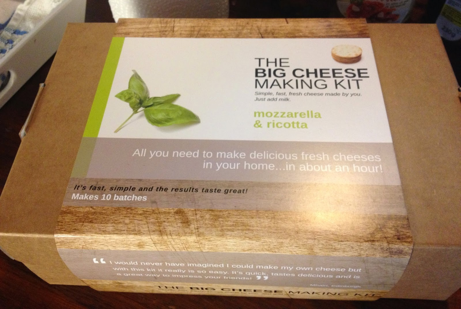the big cheese making kit
