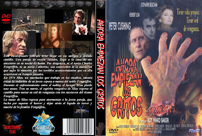 Cover, caratula, dvd: Ahora empiezan los gritos | 1973 | And Now the Screaming Starts!