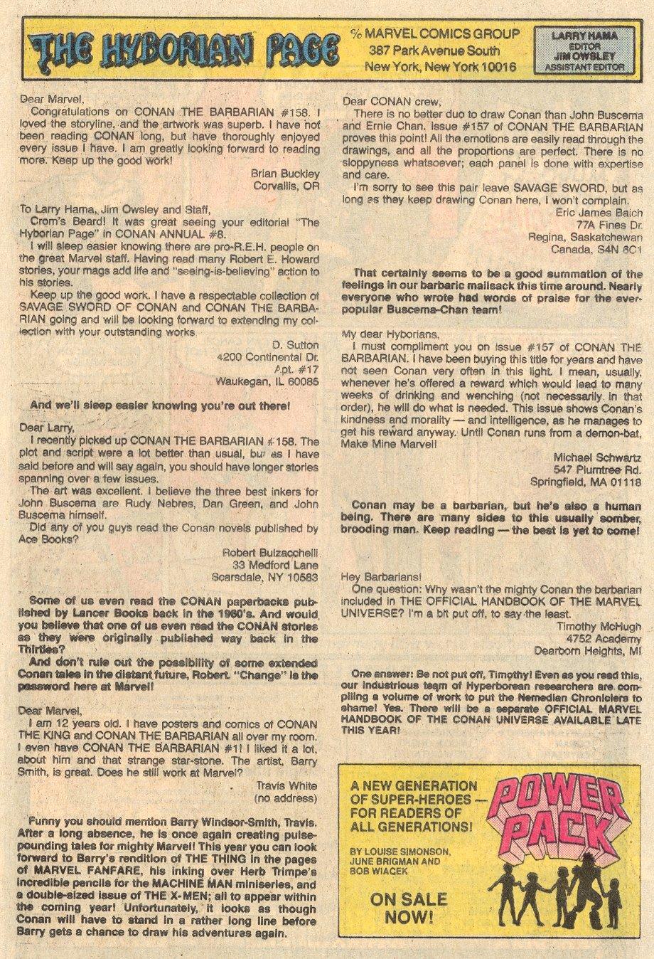 Conan the Barbarian (1970) Issue #161 #173 - English 25