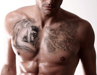 Hot and sexy Chest tattoo designs