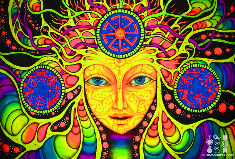 Pathway to the Truth Psychedelic-face