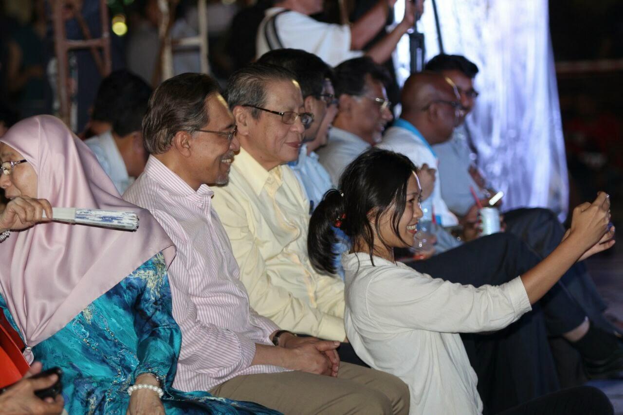 Cerita 'roadshow' amanat terakhir di Petaling Jaya malam ini hanya