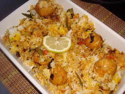 How to make veg kofta pulao recipe