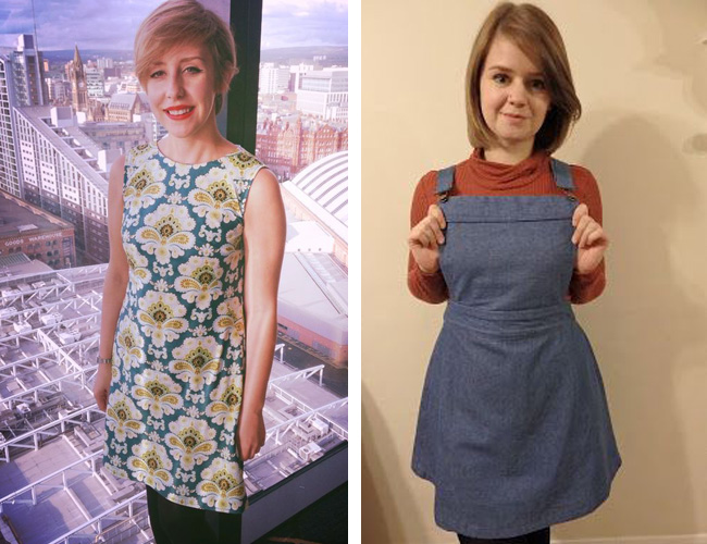 Francoise and Delphine sewing patterns - made by Lauren and Rach