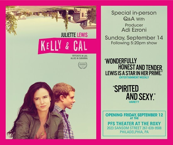 WIN ROE Screening passes to Kelly & Cal - Contest runs from 9/11 -9/13