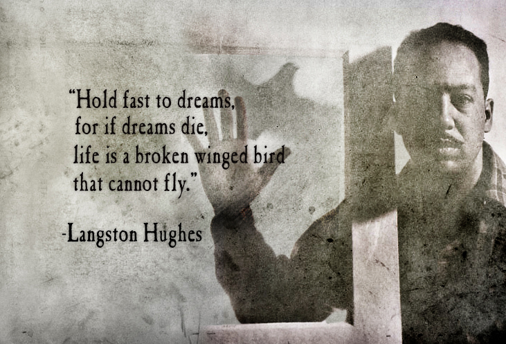 langston hughes the negro speaks of Langston hughes wrote the negro speaks of rivers while on a train ride to mexico, where he would live with his father for one year he had just graduated from high school in cleveland, ohio, making him a mere eighteen years old.