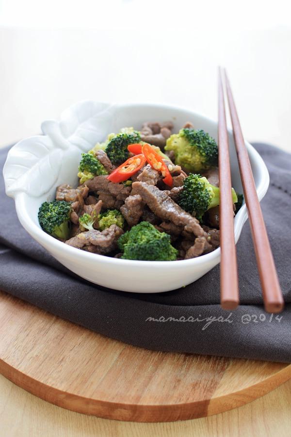 Beef Broccoli | Tumis Daging Sapi & Brokoli