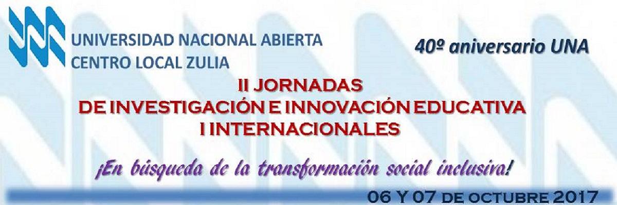 II Jornadas de Investigación e Innovación Educativa. I Internacionales.