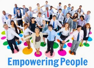 empowering people in the workplace Regardless, a growing number of people are searching to understand  keiffer's (1984) work on personal empowerment is one of the only major.