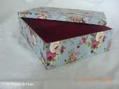 Adoro forrar caixas!
