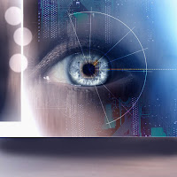 a device that generated handwriting from eyes movements