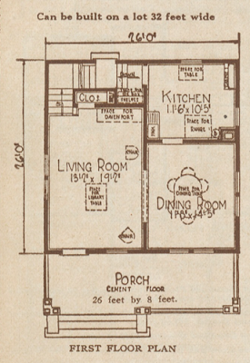 sears americus first floor layout